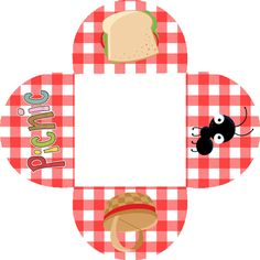 Picnic Free Party Printables and Boxes.
