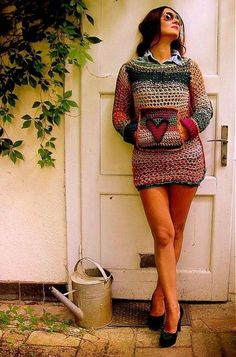 45 Beautiful Crochet Dresses to Look Gorgeous