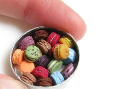 Realistic Miniature Food Sculptures Made From Clay