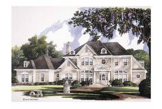 Eplans NeoClassical House Plan - Delightfully Sunny - 4040 Square Feet and 4 Bedrooms(s) from Eplans - House Plan Code HWEPL01273