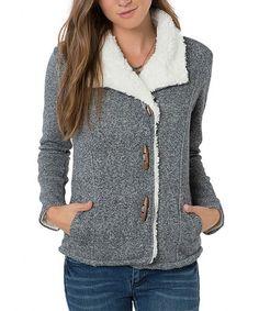 Look what I found on Heather Black Teacup Fleece Jacket Short O, Soccer Shorts, Fleece Sweater, Heather Black, Teacup, My Style, Vests, Sweaters, How To Wear
