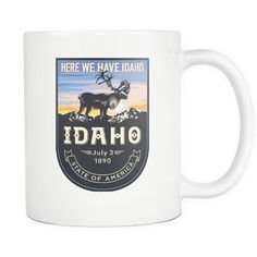 Happy to announce our new Idaho 11oz Coffee....  Get it before we sell out here: http://www.nanathenoodle.com/products/idaho-11oz-coffee-mug-3-styles?utm_campaign=social_autopilot&utm_source=pin&utm_medium=pin