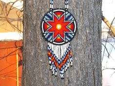 morning star native american beadwork by deancouchie on Etsy