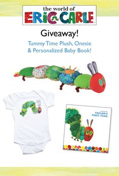 Its giveaway time decorate a nursery with pottery barn kids looking for the perfect new baby gift weve put together a caterpillar negle Choice Image