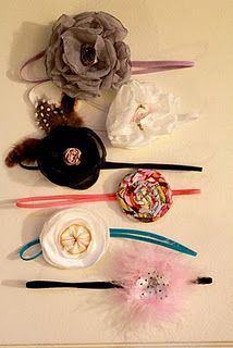 Head bands. Great measurement table for headband sizes