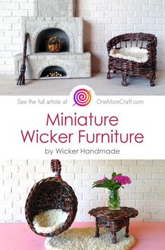 Today we are going to surprise you with a wicker furniture! What's so special about wicker furniture, you may ask? Oh, we are hundred percent sure, you have never seen wicker works like these ones. ❤️