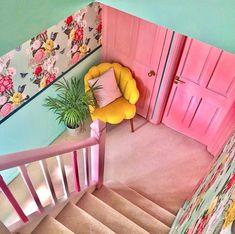 Cute Apartment, Interior And Exterior, Interior Design, Retro Home Decor, Furniture Layout, Dream Rooms, Decoration, Shelving, Toddler Bed