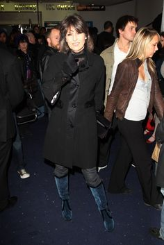 Chrissie Hynde Out and About Picture