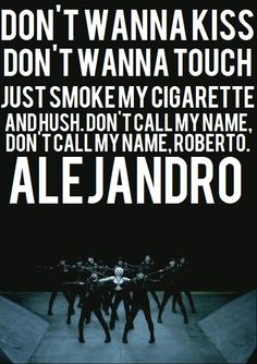 Alejandro- lady gaga