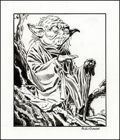 Al WILLIAMSON, Yoda Comic Art