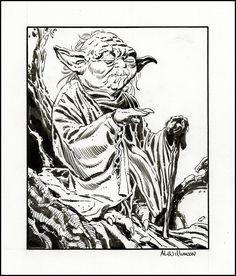 Al WILLIAMSON, Yoda Comic Art