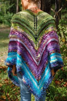 Brilliant Knitted Shawl  via Creations By Callie