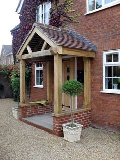 Lovely Door Overhang Designs (19)