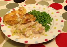 Cheap and cheerful chicken and leek pie.