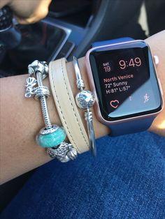 Apple Watch & Pandora arm party