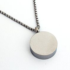 Zahara Memorial Urn Necklace (20 Inches) with Velvet Pouch and Fill Kit | Round Pendant and Chain (Nickel Free) ** Visit the image link more details. (This is an affiliate link and I receive a commission for the sales)