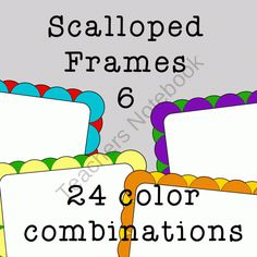 You will receive 48 digital frames/borders that are approx. 8 X 10.5 and 300 dpi. Files are provided in .png images only. You get 24 frames and 24 frames that are filled in white for a total of 48 frames.     See the preview for all the color combinations.    This would be perfect for your cover pages!