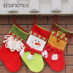 Snowman Christmas Socks Cartoon Santa Claus Snowman Elk Christmas Socks Festival Xmas Decor 15x20x32cm
