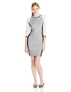 2f766bc352d Derek Heart Juniors Colorblock Quilted Sweater Dress Reviews  Colorblock