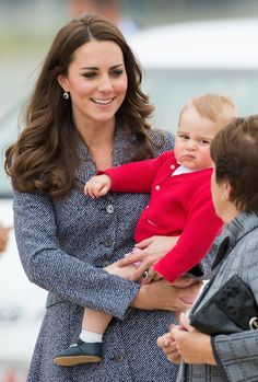 Pin for Later: 15 Times Prince George Was More Badass Than You'll Ever Be When He Looked at This Woman Like She'd Just Told Him He'd Never Be King