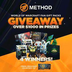 Win World of Warcraft Fan Gift Packs
