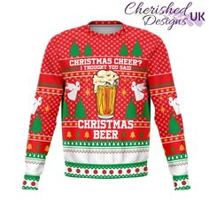 Christmas Cheer Ugly Xmas Sweatshirt - XL
