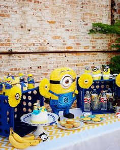 Despicable Me Minion Playdate Party