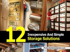 12 Storage Solutions Made Easy
