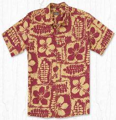 Kihei Hawaiian Shirt by Kahala http://www.captainslanding.com/kihei-hawaiian-shirt-by-kahala/