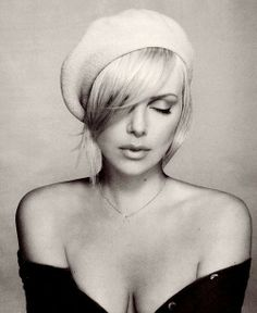 Charlize Theron. The true and beautiful Charlize Theron.