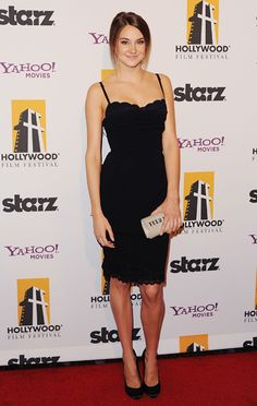 Shailene Woodley, 15th Annual Hollywood Film Awards Gala, 2011. 'The 21 Most Epic Celebrity LBDs of all Time'