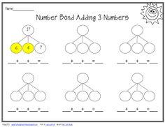 Make a ten, then add on | Math | Pinterest