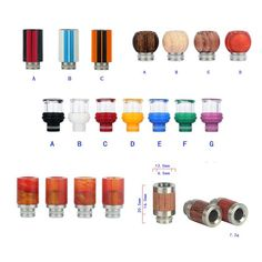 Usa Hottest Selling Wood Wide Bore Drip Tips For Rda Rba Tank Ecig Colorful 510 Glass Stainless Steel Chuff Pom Mouthpieces Non O Ring How To Use A Drip Tip Unique Drip Tips From Glassbongschina, $1.55| Dhgate.Com