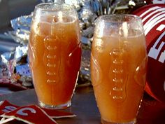 SandraLee's Homecoming Punch from FoodNetwork.com- made it at my Halloween party two years ago, it was a BIG hit and I'm craving it again!  It might make an appearance at my Christmas party Dec. 1.  You need to come and help me drink it!