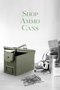 Shop for Ammo Cans on Government Liquidation- Bidding starts at $50.00