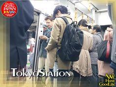 on the train of Tokaido-honsen.