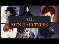 Guide: Absolutely All Men Hair Types (Video + Examples) - Men Hairstyles World Men Hairstyles, What Type, Need To Know, Pure Products, World, Hair Styles, Hair Plait Styles, Hair Makeup, Hairdos