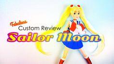 Fabulous Custom Review: Sailor Moon - YouTube Diy Ooak Doll, Ooak Dolls, Barbie Dolls, Froggy Stuff, Doll Stuff, Doll Repaint, Custom Dolls, Lps, Sailor Moon