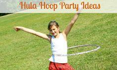 Throw a hula hooping party extravaganza