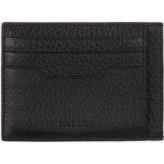 Bally MURYN Men's leather card holder in Black (13920 RSD) ❤ liked on Polyvore featuring men's fashion, men's bags, men's wallets, mens leather card case wallet, mens wallets, mens leather credit card holder wallet, mens leather wallet and bally mens wallet