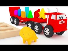 Learn shapes with the red car and Dino the Dinosaur Learning Numbers, Learning The Alphabet, Elmo Sings, Dino The Dinosaur, Toddler Learning, Learning Colors, Working With Children, Cartoon Kids, Coloring For Kids