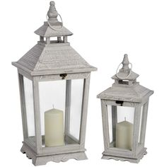 Set of 2 Traditional Lanterns