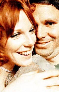 Pamela Courson & Jim Morrison - (common law wife, died. 25-Apr-1974 heroin overdose)