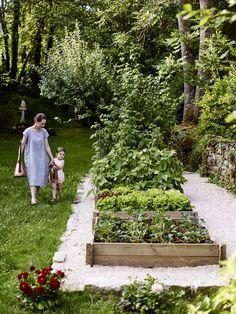 secret garden backyard ideas The Cook's Atelier Potager and Kitchen Garden — The Cook's Atelier Potager Garden, Veg Garden, Vegetable Garden Design, Garden Cottage, Edible Garden, Vegetable Gardening, Container Gardening, Vegetables Garden, Veggie Gardens