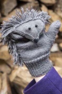 Hedgehog mittens, found on : http://www.landleven.nl/Wonen/Algemeen/2012/10/Brei-deze-egelwanten-LANDART001114W/  Pattern is in Dutch, use translator.