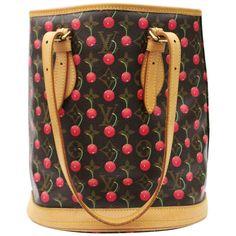 e053b01a0341 Louis Vuitton Monogram Cerises Cherry Bucket Bag