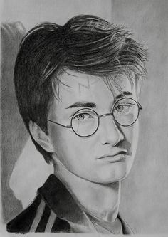 Harry Potter drawing by stephenpotter15, via Flickr