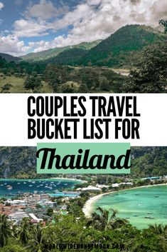 12 of the Most Romantic Things to do in Thailand - World Wide Honeymoon Thailand Honeymoon, Thailand Travel Guide, Asia Travel, Honeymoon Destinations, Luang Prabang, Laos, Romantic Things To Do, Travel Couple, Family Travel