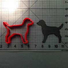 Dog 101 Cookie Cutter JBCookieCutters.com customizes moldings, cookie cutters, cookie cutter, cutters, cutter, silicone mold, silicone molds, stencil, stencils, baking supplies, baking