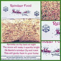 Sparkly Reindeer Food - The Supermums Craft Fair